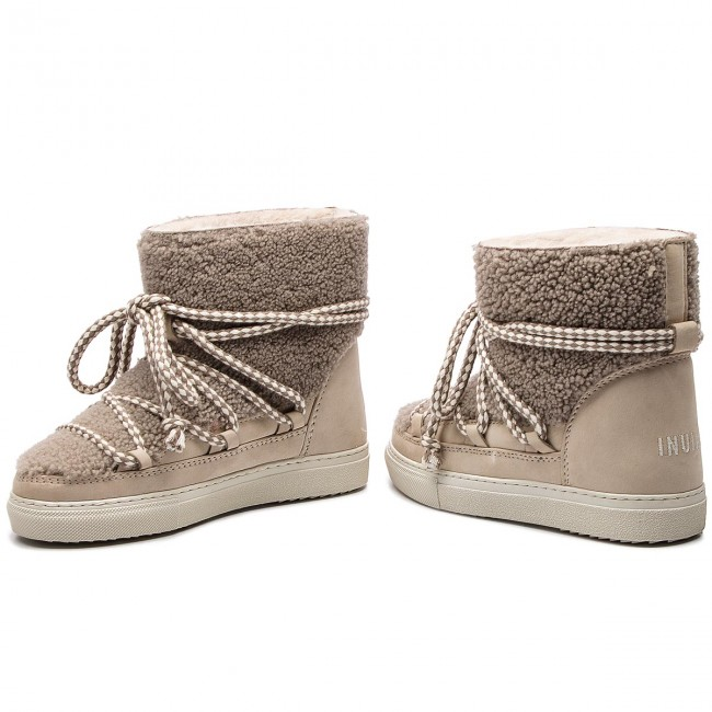 Shoes INUIKII Sneaker Curly 70202 16 Taupe