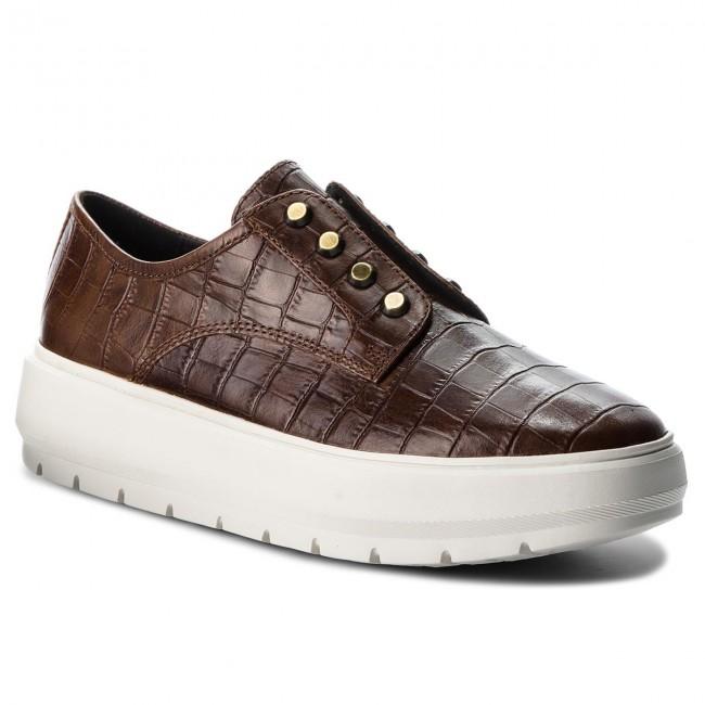 Shoes GEOX D Kaula C D84ANC 0006Y C0013 Brown