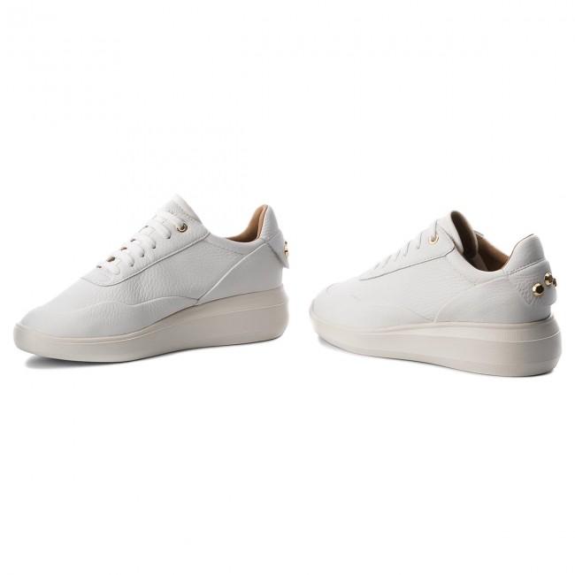 Sneakers GEOX D Rubidia A D84APA 00046 C1000 White zUhgv