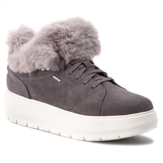 sugerir Médico expedido  Sneakers GEOX - D Kaula B Abx A D84AWA 00022 C9002 Dk Grey - Sneakers - Low  shoes - Women's shoes | efootwear.eu