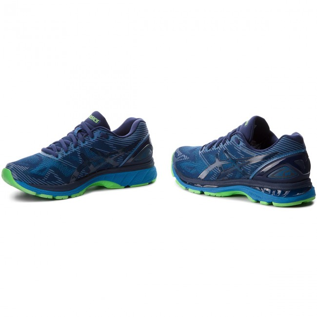 pretty nice 52f77 94b94 Shoes ASICS - Gel-Nimbus 19 Lite-Show T7C3N Indigo Blue/Directoire  Blue/Reflective 4943