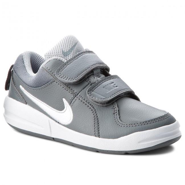 30b4ea5cb85de Shoes NIKE - Pico 4 (PSV) 454500 022 Cool Grey/White/Wolf Grey - Velcro -  Low shoes - Boy - Kids' shoes - efootwear.eu