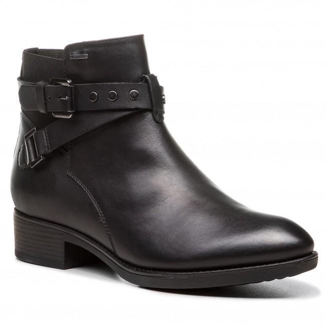 Boots GEOX D Felicity Np Abx B D84BLB 043BC C9999 Black