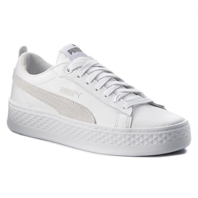 Sneakers PUMA Smash Platform L 366487 06 Puma WhitePuma WhiteWhite