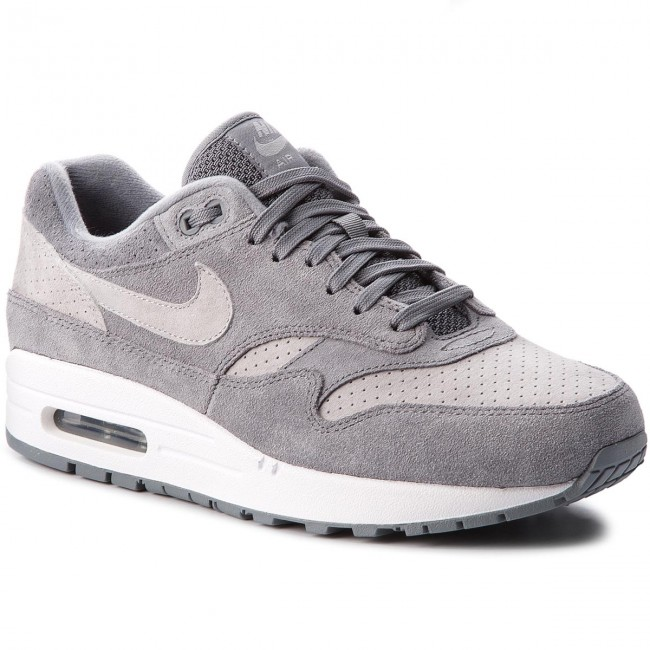 Shoes NIKE Air Max 1 Premium 875844 005 Cool GreyWolf GreyWhite