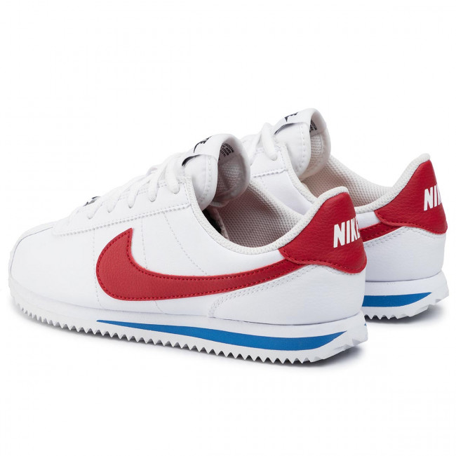 encerrar de ultramar Vamos  Shoes NIKE - Cortez Basic Sl (GS) 904764 103 White/Varsity Red - Sneakers -  Low shoes - Women's shoes | efootwear.eu