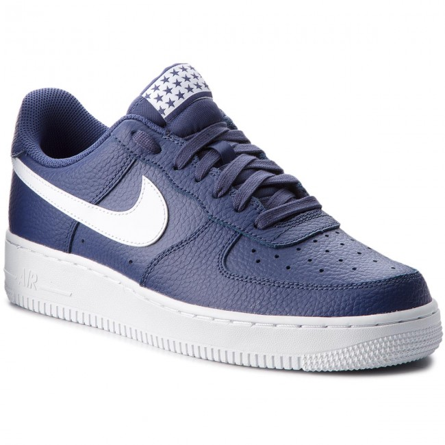 Shoes NIKE Air Force 1 '07 AA4083 401 Blue RecallWhite