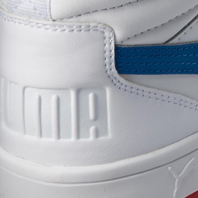 00b4437b0 Sneakers PUMA - Rebound Street V2 L Jr 363913 07 White/Strng Blue/Rbbn