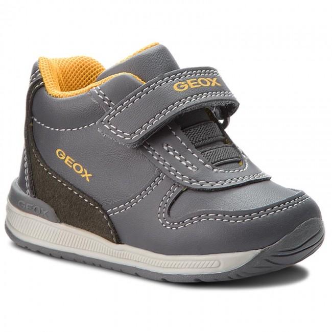 Boots GEOX - B Rishon B. B B840RB 054AU C2218 Dk Grey/Ochreyellow