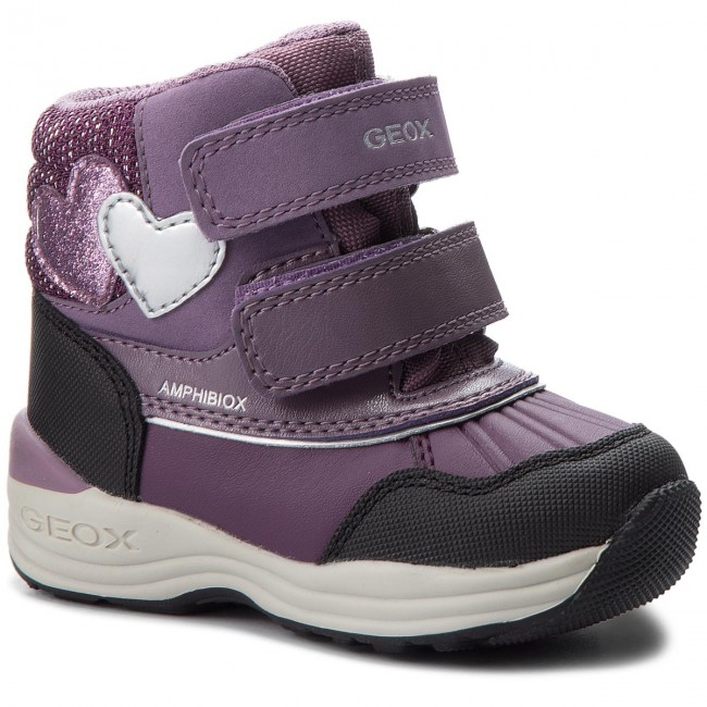 Snow Boots GEOX B N.Gulp B.B Abx A B841FA 0BCEW C8017 M Prune