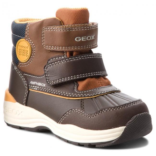 Snow Boots GEOX B N.Gulp B. B Abx A B841GA 054FU C6090 S CoffeeCognac