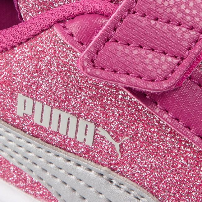puma smash v2 glitz glam v ps sneakers purple