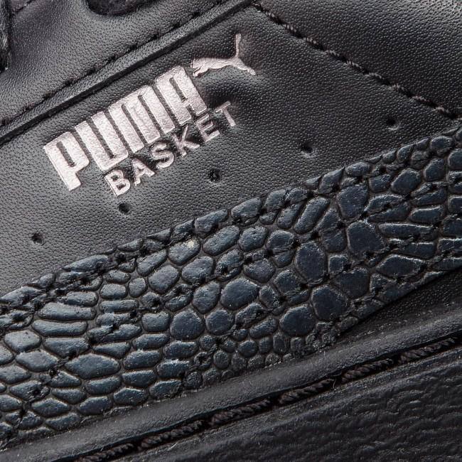 puma basket platform euphoria nere