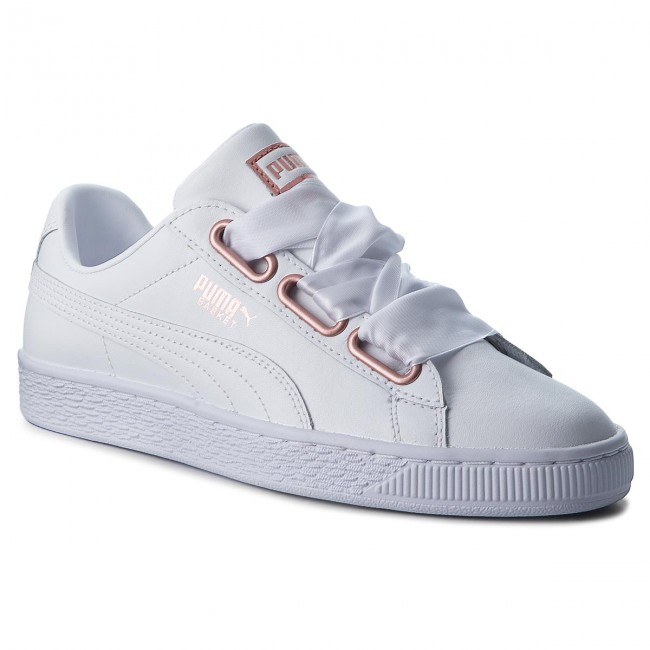 puma heart leather