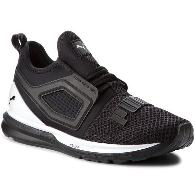 new york 0d12f d8c72 Shoes PUMA - Ignite Limitless 2 191293 01 Puma Black/Puma White