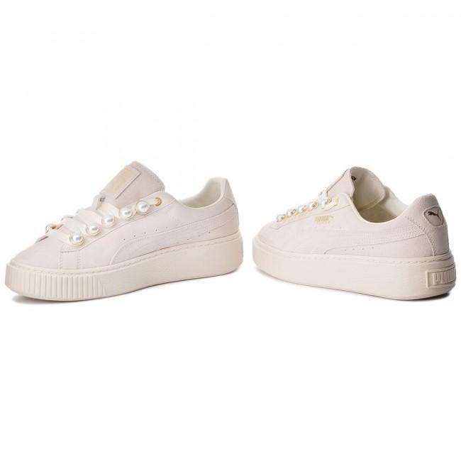 Sneakers PUMA Suede Platform Bling Wn's 366688 02 Whisper WhiteWhisper White