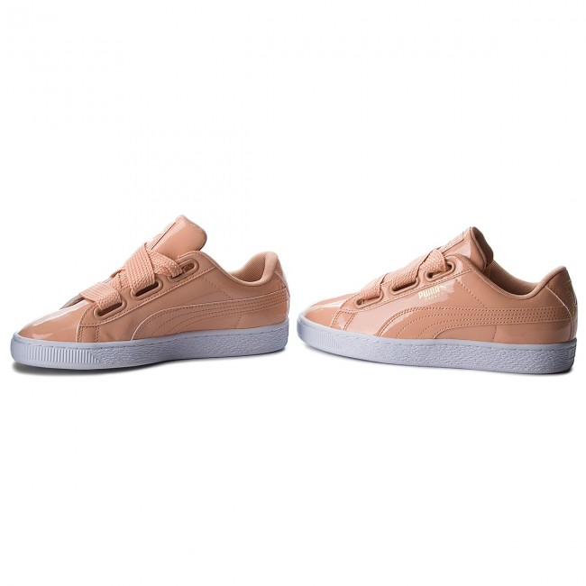 new product 86dce 7b0a4 Sneakers PUMA - Basket Heart Patent 363073 16 Dusty Coral/Dusty Coral