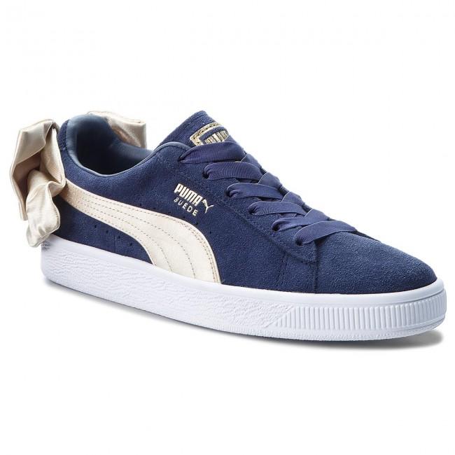 Sneakers PUMA Suede Bow Varsity Wn's 367732 02 PeacoatMetallic Gold