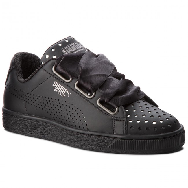 newest collection 2950e 5ac2d Sneakers PUMA - Basket Heart Ath Lux Wn's 366728 03 Puma Black/Puma Black