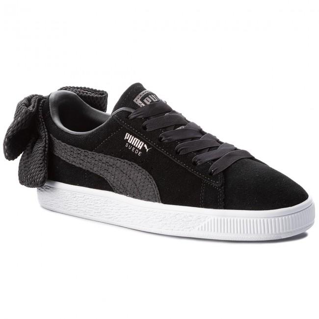 Sneakers PUMA Suede Bow Uprising Wn's 367455 01 Puma BlackPuma White