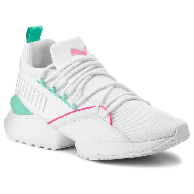 526baddf Sneakers PUMA - Muse Maia Street 1 Wn's 367355 02 Puma White/Knockout Pink