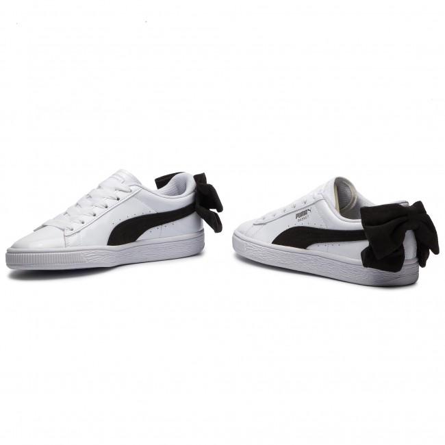 Sneakers PUMA Basket Bow Sb Wn's 367353 03 Puma WhitePuma Black