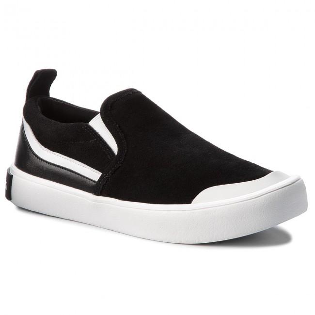 pretty nice new york in stock Sneakers CALVIN KLEIN JEANS - Dacio S1756 Black/White/Black ...