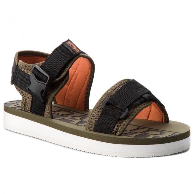 save off 55e7a 1784d Sandals NAPAPIJRI - Lido 16807611 Army Green N79