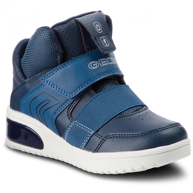 Sneakers GEOX - J Xled B. A J847QA 05411 C4002 S Navy