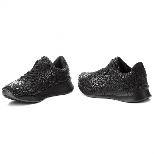 Rieker Sneaker N5609-00 schwarz