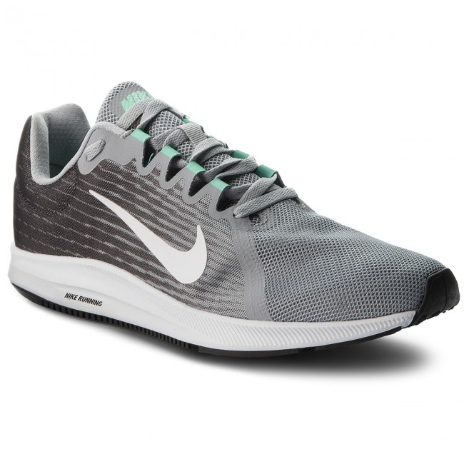 1b5fe3f79a Shoes NIKE - Downshifter 8 908984 008 Wolf Grey/White/Thunder Grey - Indoor  - Running shoes - Sports shoes - Men's shoes - efootwear.eu