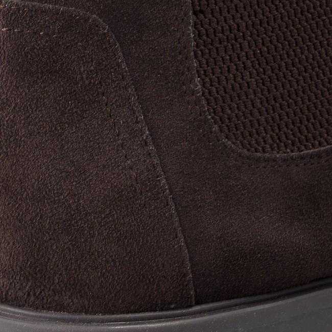 Ankle Boots GEOX U Kapsian B U843PB 00022 C6024 Dk Coffee 1X1Ts