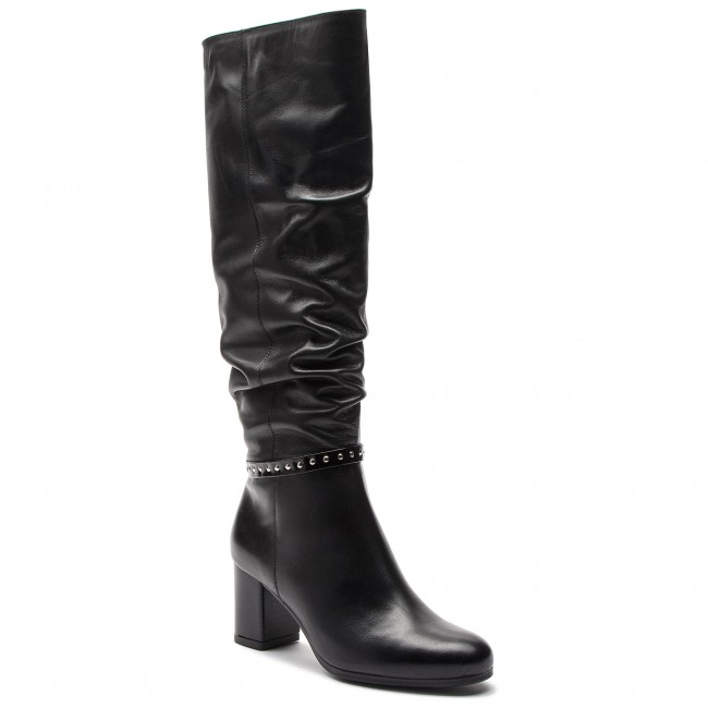 Knee High Boots ANN MEX - 8998 01S Black