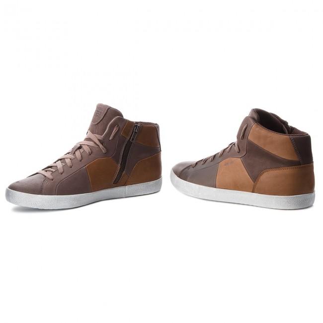 Sneakers GEOX U Smart A U84X2A 00043 C6090 CoffeeCognac