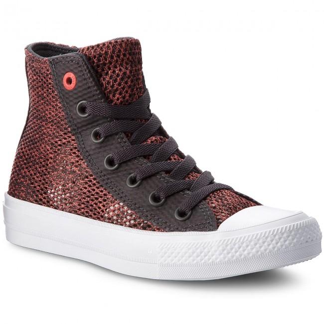 Sneakers CONVERSE Ctas II Hi 155729C Almost BlackUltra RedWhite