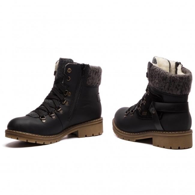 Hiking Boots RIEKER Y9143 01 Schwarz