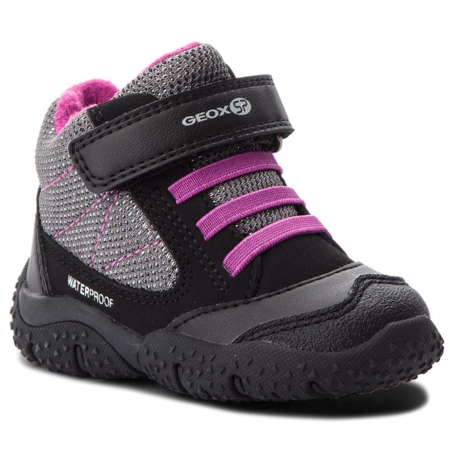 Respectivamente Seminario Mirar  Snow Boots GEOX - B Baltic G.Wpf A B84H1A 050EW C0037 M Black/Purple -  Trekker boots - High boots and others - Girl - Kids' shoes | efootwear.eu