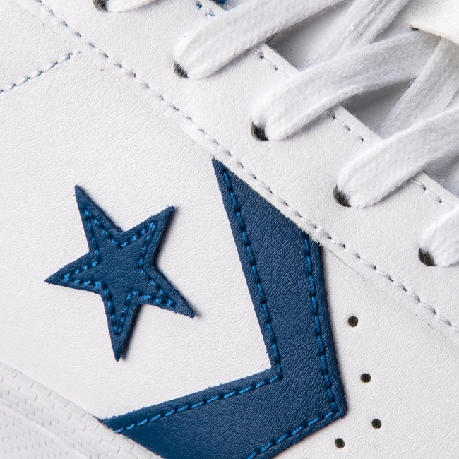 Sneakers CONVERSE Pro Leather 76 Ox 157807C WhiteBlue Jay
