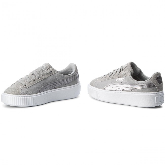 buy popular 00cd3 cdc2d Sneakers PUMA - Suede Platform Safari 364594 02 Quarry/Quarry