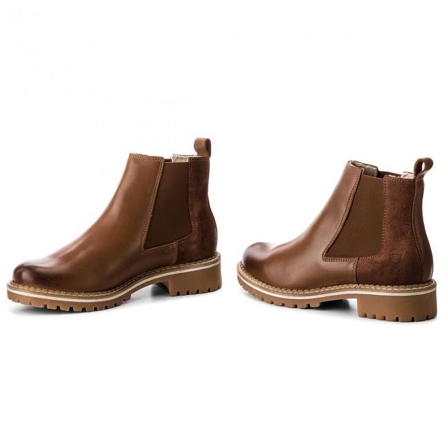 half off 88702 60d2d Ankle Boots TAMARIS - 1-25457-21 Cognac Comb 392
