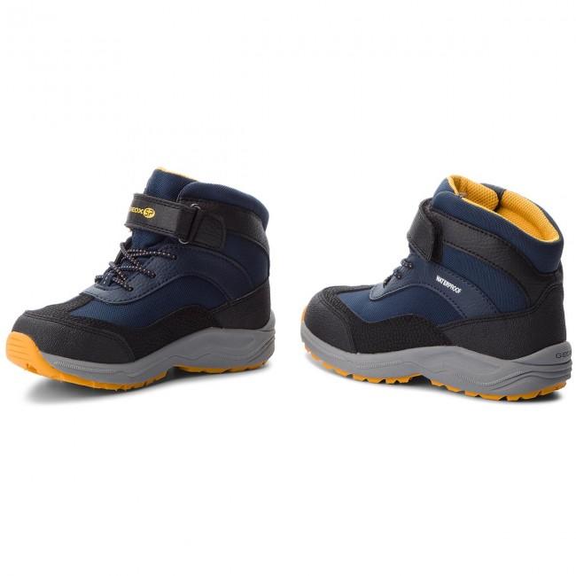 Snow Boots GEOX J N.Alaska B.B Wpf C J847PC 0FU50 C4054 S NavyYellow