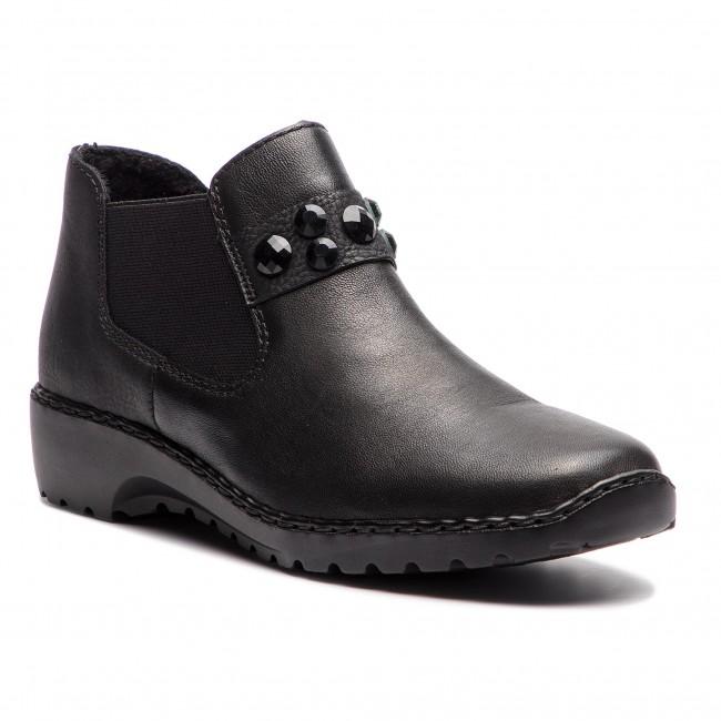 Boots RIEKER - L6080-00 Schwarz - Boots
