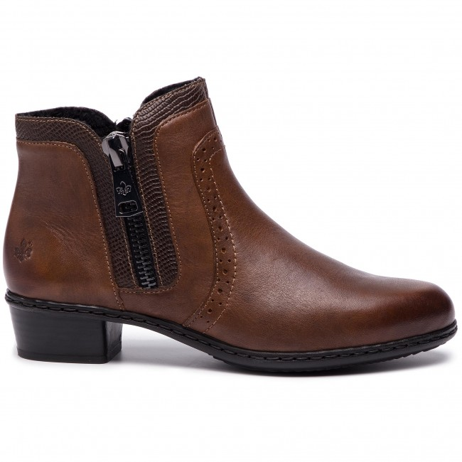 Boots RIEKER Y0727 22 Braun Boots High boots and