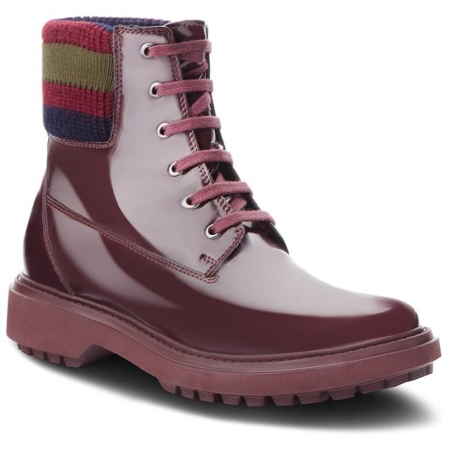Hiking Boots GEOX - A Asheely B D847AB 000BC C7357 Dk Burgundy