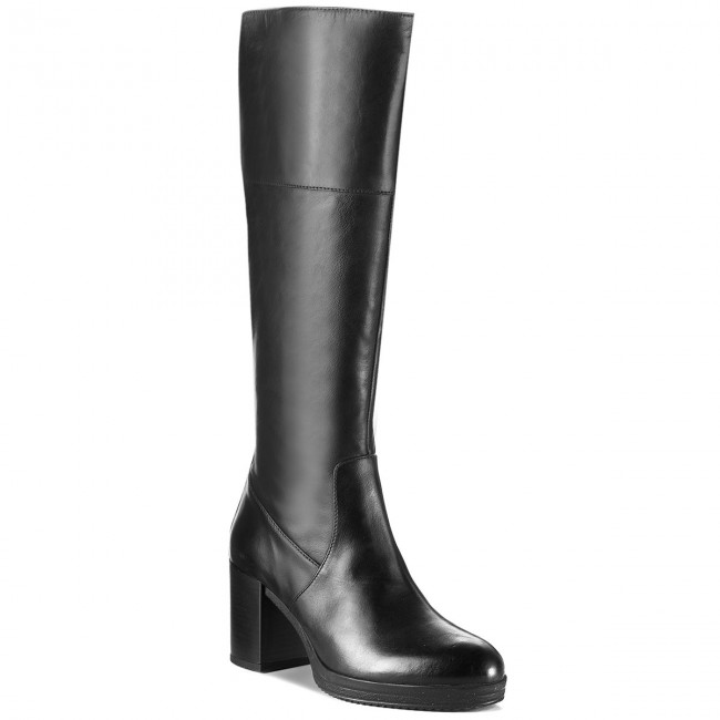 cráneo peine bolígrafo  Knee High Boots GEOX - D Remigia A D84AFA 000CL C9999 Black - Jackboots -  High boots and others - Women's shoes | efootwear.eu