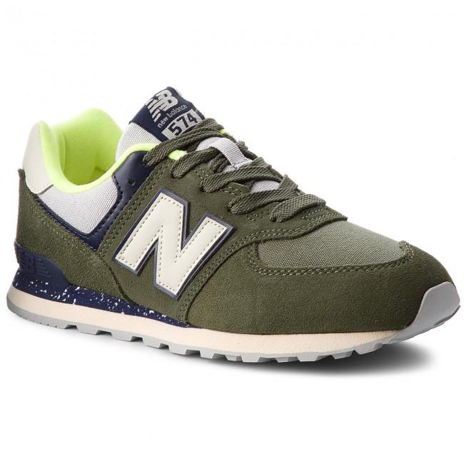 new balance bambini verdi