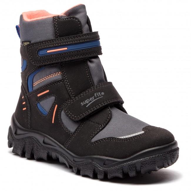 timeless design aaa0d 1f22b Snow Boots SUPERFIT - GORE-TEX 3-09080-04 S Schwarz/Orange