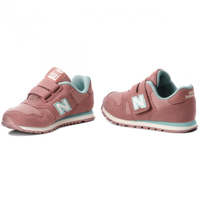 Sneakers NEW BALANCE - KV373NTY Pink - Velcro - Low shoes - Girl ...