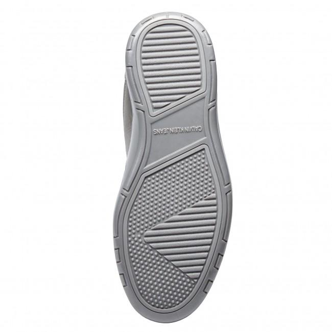 Sneakers CALVIN KLEIN JEANS - Nigel Reflex Nylon S1773  Silver - Sneakers - Low shoes - Men's shoes