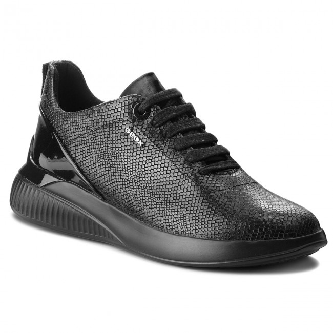 cartucho concepto salchicha  Sneakers GEOX - D Theragon C D828SC 09DHH C9999 Black - Sneakers - Low  shoes - Women's shoes | efootwear.eu